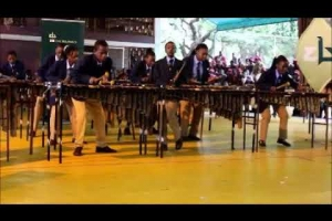 Embedded thumbnail for Junior Marimba band at the NIAA Marimba cup challenge