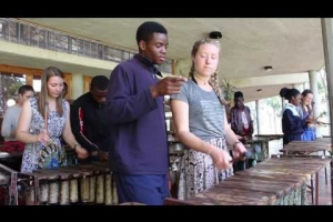 Embedded thumbnail for Watershed College and USA Marimba Cultural exchange
